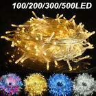 Fairy+String+Lights+20-1000+LED+Clear+Cable+for+Christmas+Tree+Indoor+Outdoor