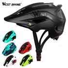 WEST BIKING Bike Helmet Breathable Ultralight MTB Cycling Safety Bicycle Helmets