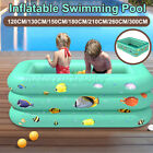 300CM Inflatable Swimming Padding Pool Square Kids Play Bathing Family