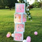 Customize Transparent Balloon Letter Box for Birthday Parties, Gender Reveal US