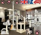 Multilevel Cat Climbing Tree Tower Scratching Post Kitten Activity Centre Toys