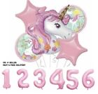Eid Ramadan Mubarak Letter Pentagram Moon Party Foil Balloons Set Home Decor Uk