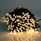 100LED Solar String Fairy Lights Christmas Outdoor Party Xmas Tree Waterproof UK