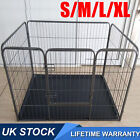 Foldable Pet Play Pen Puppy Dog Animal Cage Run Panel Fence Exercise Playpen