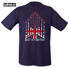 Kombat Best Of British Men's Army Military Air T-shirt RAF Union Jack Red Arrows