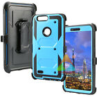 For ZTE Blade Z Max Sequoia ZMax Pro 2 Clip Rugged Shockproof Rubber Silicone