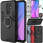 For Xiaomi Redmi 9 Ultra Slim Magnetic Stand Ring Holder Hard Armor Case Cover