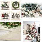 4Th Emotion Farmhouse Christmas Pillow Covers 18X18 Set Of 4 Country Christmas D