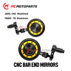 CNC REACTOR Bar End Mirrors For Ducati Panigale 1199 /899 13-15 Panigale 1299