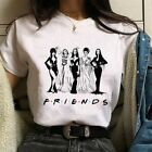 Women Fashion Witch Printed Short Sleeve T-Shirt
