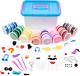 40 Colours Air Dry Modelling Magic Clay Kit with Tools, Accessories & Storage &