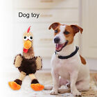 CHICKEN SHAPE PET DOG PUPPY CHEWING TOY SOFT SQUEAKY SOUND PLUSH DOLL FADDISH