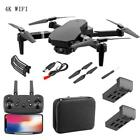 Cooligg FPV Wifi RC Drone With HD Camera Foldable Quadcopter Selfie 4K 1080P Toy