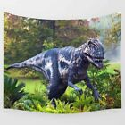 Wild Ancient Dinosaur Forest Hanging Wall Art Tapestry For Home Decoration Craft