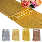 30 X 180cm Glitter Sequin Table Runner Tablecloth Sparkly Wedding Party Decor