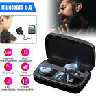Bluetooth 5.0 Earbuds TWS Wireless Headphone Touch Bass Headset Noise Cancelling