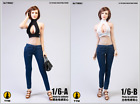 """TYMtoys 1:6 Open Chest Vest Clothes Tops For 12"""" Female PH TBL UD Figure Body"""