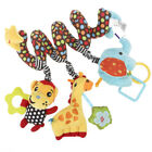 Baby Boy Baby Animals Toy Bed Crib Hanging with Mirror and Bell