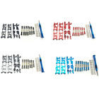 1x(for Wltoys 1:14 144001 Rc Car Upgrade Parts Metal Steering Swing Arm Bas