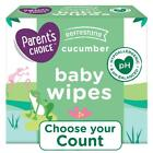 Cucumber Scent Organic Baby Wipes, 12 Packs of 100 (1200 Count)