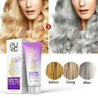Purple Hair Shampoo Blonde Hair Lighten Discolored Silver Hair Dye Long Lasting