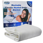 'Cosy Soft Under Blanket With Electric Heating - Machine Washable + Controller
