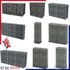Garden Gabion Wall with Cover Welded Mesh Rock Stone Wall Basket wire Cage Fence