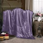 Cozysilk Pure Silk Throw Blanket, 100% Mulberry Silk Inside and Outside, Pure Si