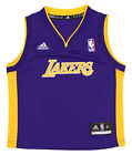 Adidas NBA Toddlers Los Angeles Lakers Replica Away Jersey, Purple