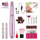 2021 Professional Electric Manicure Pedicure Kit Drill File Nail Art Pen Machine