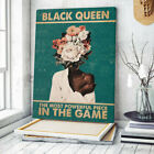 Black Queen Poster, Black Queen the Most Powerful Piece in the Game Wall Art