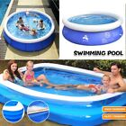 Large Family Swimming Pool Garden Outdoor Summer Inflatable Kids Ground Pools UK