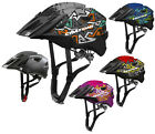 Cratoni Allride Junior Modelo 2021 Casco Bicicleta de Mountainbike Chico la Bici