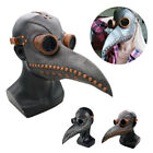 Plague Doctor Mask Halloween Costume Bird Long Nose Beak Steampunk Halloween