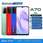 """Android 11 5380mah Mobile Phone Blackview 2021 4g Smartphone 3gb+32gb 6.517"""""""