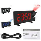 Alarm Clock LED Wall/Ceiling Projection LCD Digital Radio BEST QUALITY & PRICE A