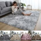 Fluffy Large Rugs Anti-slip Soft Carpet Mat Floor Living Room Bedroom Rug Uk