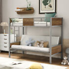 Futon Bunk Beds Twin Over Full Metal Futon Bed Frame Sofa Bed Bedroom Furniture