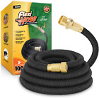 Flexi Hose Lightweight Expandable Garden No-Kink Flexibility Water Pipe 100ft UK