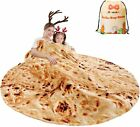 mermaker Burritos Tortilla Blanket 2.0 Double Sided 71 inches for Adult and Kids