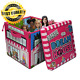 Barbie ZipBin 40 Doll Dream House Toy Box and Playmat, Styles May Vary Pink