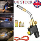 Propane Butane Gas Torch Burner Blow Plumbers Roofers Roofing Brazing Set UK