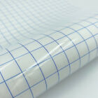 Adhesive Vinyl Transfer Paper Tape Roll Clear Blue Grid 30*100Cm Circuit Useful