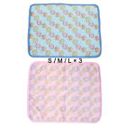 Pet Cooling Mat Car Seats Summer Cats Dogs Cool Pad Bed Kennels Breathable