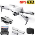 Mini GPS Drone 2.4/5G 6K HD Dual Camera Wifi FPV Foldable RC Quadcopter Drone UK