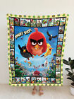 Angry Birds Comics Fleece Blanket, Gifts for Angry Birds Fans, Birthday