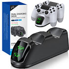 For PS4 PlayStation 4 Controller Dual Fast Charger Dock Station Charging Stand