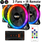 Aigo Aurora 1/3Pack DR12 Pro Quiet Remote ASUS Aura Sync 120mm RGB LED Case Fans