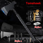 Camping Axe Hatchet Survival Kit Tactical Tomahawk Outdoor Hiking Multi-Tools