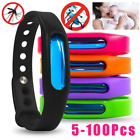 5-200 Mosquito Anti Repellent Bracelet Kids Watch Safe Mosquito Repeller Band US